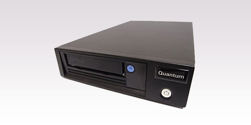 Quantum LTO tape drive used for media preservation and archiving